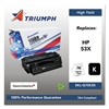 Triumph 751000NSH0364 Remanufactured Q7553X (53X) High-Yield Toner, Black