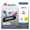 Triumph 751000NSH1286 Remanufactured CE412A (305A) Toner, Yellow