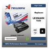 Triumph 751000NSH1063 Remanufactured T650H11A (T650) High-Yield Toner, Black