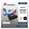 Triumph 751000NSH0210 Remanufactured 12A5845 High-Yield Toner, Black
