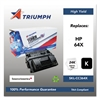 Triumph 751000NSH0965 Remanufactured CC364X (64X) High-Yield Toner, Black