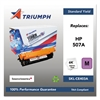 Triumph 751000NSH1282 Remanufactured CE403A (507A) Toner, Magenta