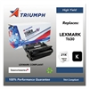 Triumph 751000NSH0212 Remanufactured 12A7462 (T630) High-Yield Toner, Black