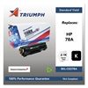 Triumph 751000NSH1099 Remanufactured CE278A (78A) Toner, Black