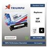 Triumph 751000NSH1394 Remanufactured CF283A (83A) Toner, Black