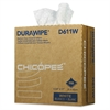 Durawipe Medium-Duty Industrial Wipers, 8.8 x 17, White, 110/Box, 12 Box/Carton