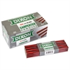 Dixon Oriole Woodcase Flat Carpenter's Pencil, Medium, Red, Dozen