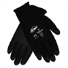 Memphis Ninja HPT PVC coated Nylon Gloves, Large, Black, Pair