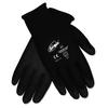 Ninja HPT PVC coated Nylon Gloves, Small, Black, Pair