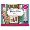 Paper Mate Flair Adult Coloring Kit, Woman's Closet Theme Coloring Book with 20 Markers
