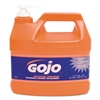 GOJO Natural Orange Pumice Hand Cleaner, Orange Citrus, 1gal Pump, 4/Carton