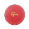 "s Playground Ball, 8-1/2"" Diameter, Red"