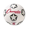 s Rubber Sports Ball, For Soccer, No. 5, White/Black