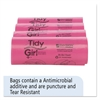 Tidy Girl Feminine Hygiene Sanitary Disposal Bags, 150/Roll, 4 Rolls/Carton
