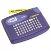 Casio KL-60L Label Maker, 2 Lines, 6-5/8w x 4-1/2d x 1-1/16h