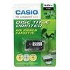Casio TR18BK Thermal Ink Ribbon Cartridge, Black