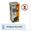 Insect-Repellent Trash Bags, 33 x 40, 1.3 mil, Black
