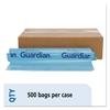 Odor Guardian Bag, 5 gal, 2 mil, 16 x 12, Blue, 500/CT