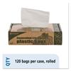 Controlled Life Cycle Trash Garbage Bag, 13gal, .70 mil, 24x30, White, 120/Box