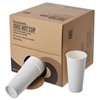 Convenience Pack Paper Hot Cups, 20 oz, White, 135/Carton