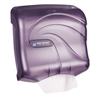 Ultrafold Towel Dispenser, 11 1/2 x 6 x 11 1/2, Plastic, Black Pearl