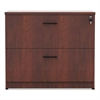 Valencia Series Two Drawer Lateral File, 34w x 22 3/4d x 29 1/2h, Cherry