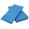 Busboy Durable Foodservice Towels, Blue/White, 12 x 24, 200/Carton