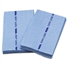 Busboy Guard Antimicrobial Foodservice Towels, Blue, 12 x 21, 1/4 Fold, 150/Ctn
