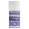 Microburst 9000 Air Freshener Refill, Mountain Peaks, 5.3oz, Aerosol, 4/Carton