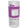 Decor Perforated Roll Towels, 2-Ply, 8 x 11, White, 70/Roll, 30 Rolls/Carton