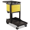 Locking Cabinet, For Cleaning Carts, Yellow