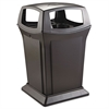 Ranger Fire-Safe Container, Square, Structural Foam, 45gal, Black