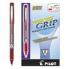 Precise Grip Roller Ball Stick Pen, Red Ink, .5mm