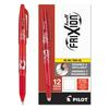 FriXion Ball Erasable Gel Ink Stick Pen, Red Ink, .7mm, Dozen