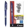 FriXion Ball Erasable Gel Ink Stick Pen, Blue Ink, .7mm, Dozen