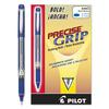 Precise Grip Roller Ball Stick Pen, Blue Ink, 1mm