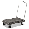 Triple Trolley, 500-lb Cap, 20-1/2w x 32-1/2d x 7h, Black