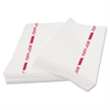 Busboy Guard Antimicrobial Towels, White/Red, 12 x 24, 1/4 Fold, 150/Carton