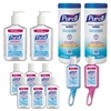 Office Hand Sanitizer Starter Kit, Assorted