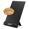 "Justick Frameless Electro-Surface Desktop Organizer & Copy Holder, 8"" x 11"", BK"