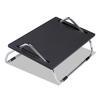 Ergo-Comfort Adjustable Footrest, 18-1/2w x 11-1/2d x 8h, Black