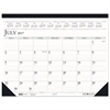 Recycled Compact Academic Desk Pad Calendar, 18 1/2 x 13, 2016-2017
