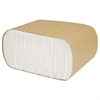 North River Perky Dispenser Napkins, 1-Ply, 3 1/2 x 5, White, 250/Pk, 8000/Crtn