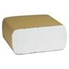 Decor Dispenser Napkins, 1-Ply, 3 1/2 x 6 3/4, White, 500/Pk, 10000/Carton