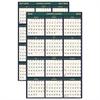 Recycled 4 Seasons Reversible Business/Academic Wall Calendar, 24x37, 2016-2017