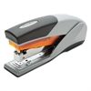 Optima 25 Reduced Effort Stapler, Full Strip, 25-Sheet Capacity, Gray/Orange