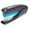 QuickTouch Reduced Effort Full Strip Stapler, 20-Sheet Capacity, Black/Blue
