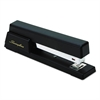 Premium Commercial Full Strip Stapler, 20-Sheet Capacity, Black