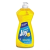 Dishwashing Liquid, 14 oz Bottle, Lemon Scent, 25/Carton
