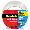 "3850 Heavy-Duty Packaging Tape, 1.88"" x 54.6yds, 3"" Core, Clear"